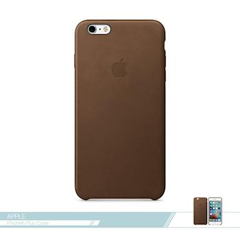 APPLE蘋果 原廠iPhone 6 Plus/ 6S Plus 專用 皮革護套-棕色 /手機保護殼 /防護背蓋