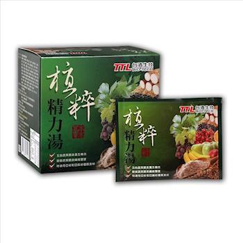 台酒生技植萃精力湯(30g/包,10包/盒) x4盒
