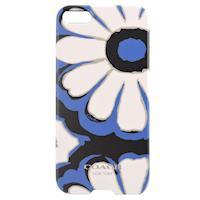 COACH 花朵 iPhone 5 手機保護殼(藍白)