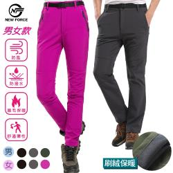 (NEW FORCE) 戶外機能保暖衝鋒褲