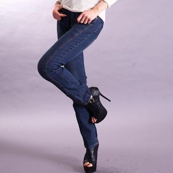 【ARH】中腰彈力3D版修身小直筒褲(966)