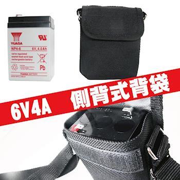 【CSP】6V4A電池背袋 電池袋 側背袋 後背袋 背肩袋 防水尼龍材質