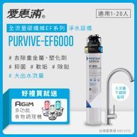 愛惠浦 EF series全流量強效碳纖維系列淨水器 EVERPURE PURVIVE-EF6000(贈2好禮)