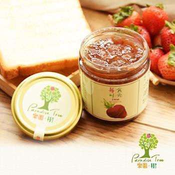 [樂園˙樹]莓好食光-無農藥草莓純果醬230克*兩瓶+贈水果軟糖2包(口味隨機)