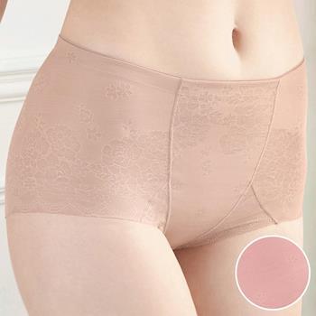 任-【華歌爾】美姿褲系列64-82高腰三角修飾褲(柔粉紅)