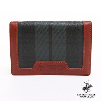 B.H.POLO 悠遊卡零錢包 經典綠格紋 BH-2052
