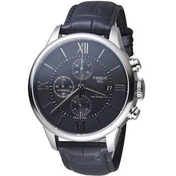 天梭 TISSOT 杜魯爾系列計時機械腕錶 T0994271605800