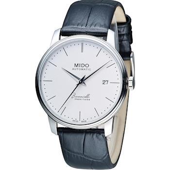 MIDO Baroncelli III 永恆系列復刻紳士機械腕錶 M0274071601000