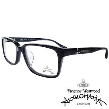 Vivienne Westwood 英國Anglomania亮眼配色光學眼鏡(黑)AN281E01