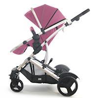 AZZURRA多功能嬰兒推車(可變雙人推車、睡箱)-粉紅