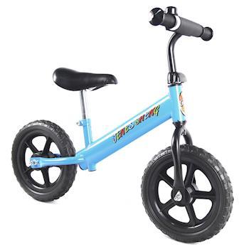 JS 12吋兒童平衡滑步車(天空藍)