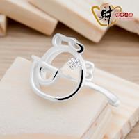 可愛-好運雞戒指(925純銀)活圍戒《含開光》【財神小舖】