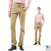 【NST Jeans】復古狂潮 仿舊茶色休閒長褲(中低腰窄版) 387(6891)