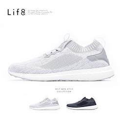 Life8-Sport 超輕量 飛織布 彈力運動鞋-09700