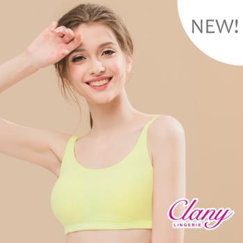 【可蘭霓Clany】繽紛涼爽天絲除臭絲蛋白M-2XL無鋼圈內衣 (恬靜綠 6922-81)
