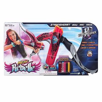 【 美國 Hasbro / NERF 樂活打擊 】Rebelle蕊貝兒系列 - 桃紅色堅強之心弓箭組