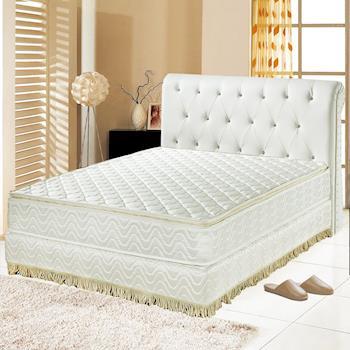 Ally愛麗 正三線乳膠-3M防潑水-側邊強化-蜂巢獨立筒床墊-雙人5尺-抗菌防潑水護腰床