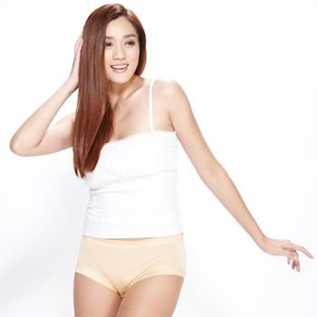 闕蘭絹日本6A級100%蠶絲無痕美臀褲五件組-8887