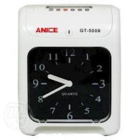 Anice 指針型雙色列印六欄位打卡鐘 GT-5000