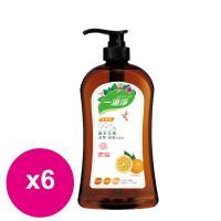 楓康一滴淨蘆薈多酚洗潔精-柑橘植萃 1000g X6瓶