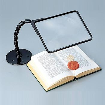 【樂齡】日本進口 可調式大尺寸閱讀 放大鏡