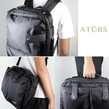 【ATURS】後背/單肩/手提 3-Way 功能包【AU-3020-NL-B】