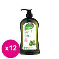 楓康一滴淨蘆薈多酚洗潔精-檸檬植萃 1000g X12瓶