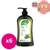 楓康一滴淨蘆薈多酚洗潔精-檸檬植萃 1000g X6瓶