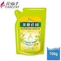 花仙子茶樹莊園-茶樹檸檬超濃縮700g洗碗精補充包6入