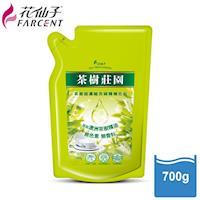 花仙子超值組1+2-茶樹超濃縮1000g洗碗精x1+700g補充包x2