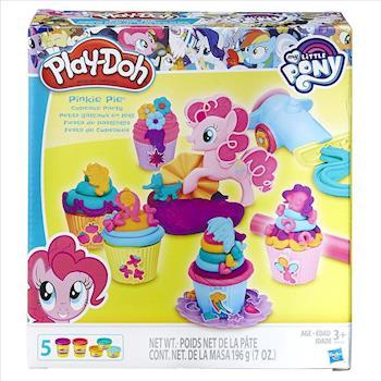 【 Play-Doh 培樂多黏土 】彩虹小馬 - 碧琪杯子蛋糕派對