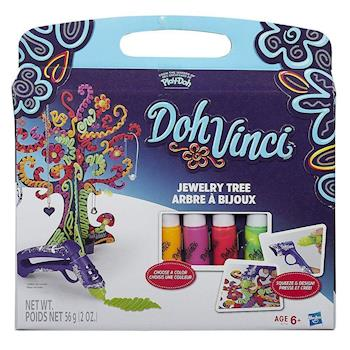 【 Play-Doh 培樂多黏土 】多紛奇混色珠寶掛飾樹 DIY 遊戲組