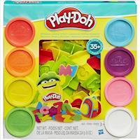 任-【 Play-Doh 培樂多黏土 】字母數字遊戲組