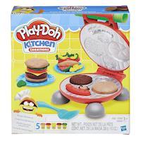 任-【 Play-Doh 培樂多黏土 】美味漢堡遊戲組