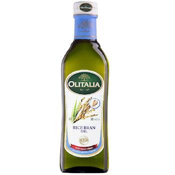 奧利塔 奧利塔玄米油500ml x10罐+ORO去皮切丁蕃茄400g x4罐
