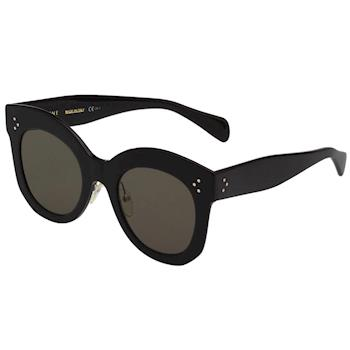 CELINE-修臉款 太陽眼鏡 (黑色)CL41443S