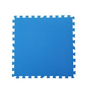 【新生活家】EVA運動安全地墊62x62x1.3cm-藍色(12片入)