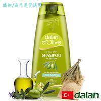 【土耳其dalan】橄欖油米麥蛋白豐盈洗髮露(纖細/扁平髮質)