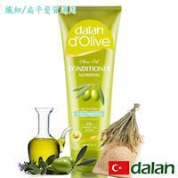 【土耳其dalan】橄欖油米麥蛋白豐盈護髮素 (纖細/扁平髮質)