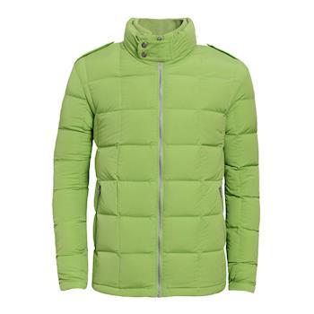 【hilltop山頂鳥】男款超撥水保暖耐濕羽絨外套F22MR9-綠