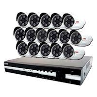 KN - HD 1080P 16路DVR+16支1080P攝影機監控套餐(聲寶)