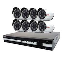KN - HD 1080P 16路DVR+8支1080P攝影機監控套餐(聲寶)