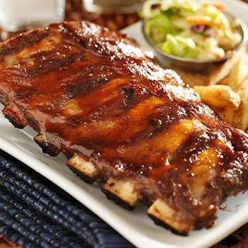 【海鮮王】BBQ燒烤豬肋排*9片組(230g/片/3-5支骨)