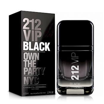 Carolina Herrera 212 VIP BLACK 男性淡香精(50ml)