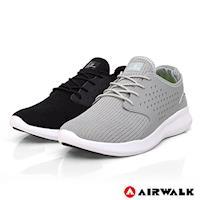 【美國 AIRWALK】迴力追風編織慢跑鞋-情侶款(共兩色)