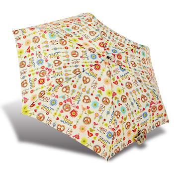 RAINSTORY雨傘-LOVE PARADISE抗UV輕細口紅傘