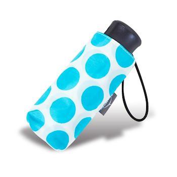 RAINSTORY雨傘-晴空藍點抗UV迷你口袋傘