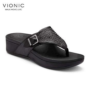 【美國VIONIC法歐尼】健康美體鞋 Capitola 卡托拉 (銀、黑、藍) -女鞋