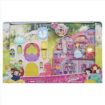 【 Disney 迪士尼】攜帶式迪士尼公主城堡 - 灰姑娘 仙杜瑞拉