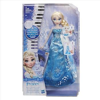 【 Disney 迪士尼】冰雪奇緣 - 艾莎音樂斗篷遊戲組